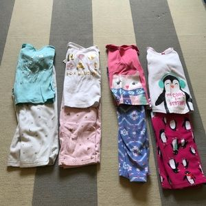 Bundle 4 Toddler Pajamas 4T